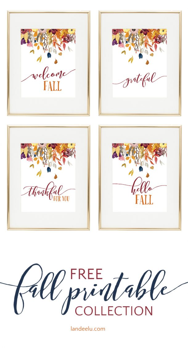This is an image of Printable Fall Decorations pertaining to autumn
