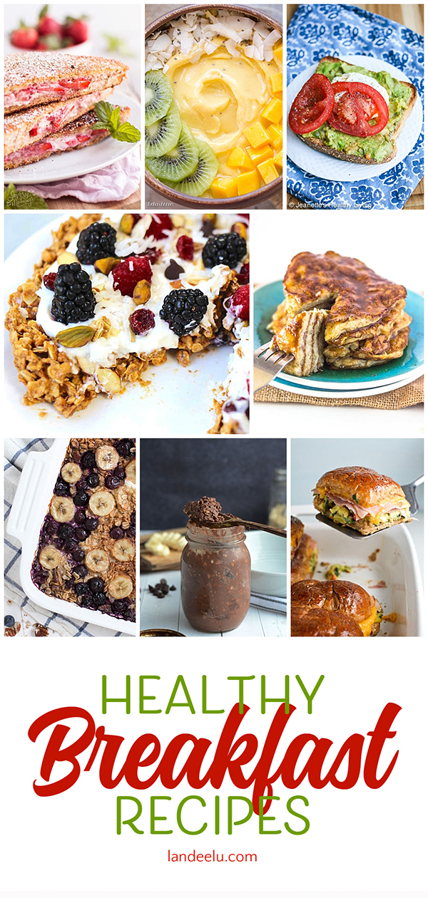 Are you looking to start your day off right with some yummy AND healthy breakfast options? Here are 20 recipes to try! Pack as many nutrients into your morning meal as possible! #breakfast #breakfastrecipes #healthybreakfast #healthymeals