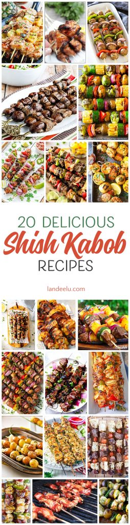 Try these delicious shish kabob recipes on the grill this summer!