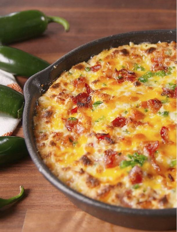 Jalapeño Popper Dip Recipe | delish