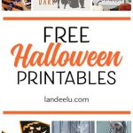 Adorable FREE Halloween printables!