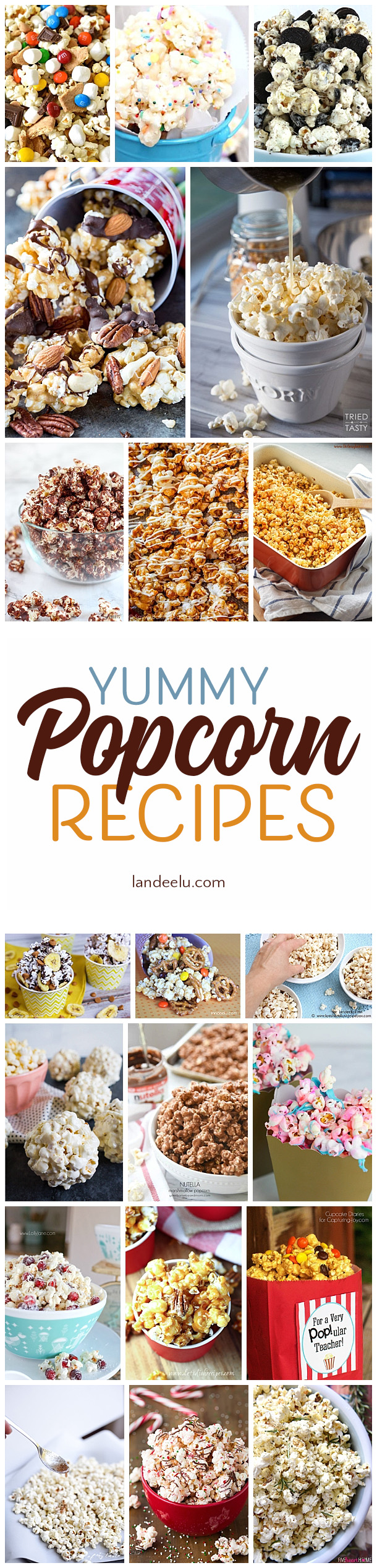 These popcorn recipes look amazing!