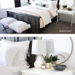 I've been looking for some awesome master bedroom ideas and I love this fresh look!