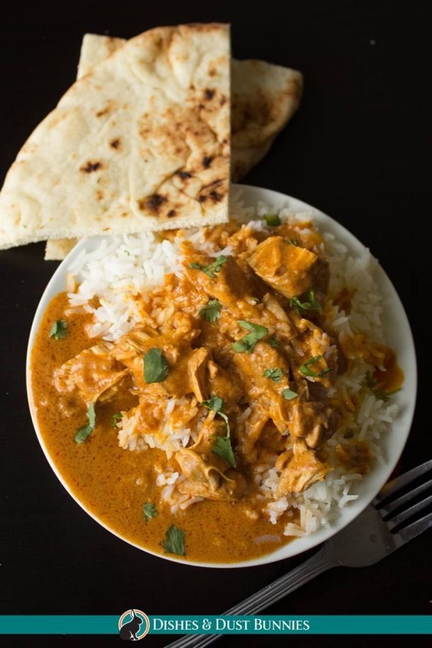 Instant Pot Indian Butter Chicken (With Slow Cooker Option) | Dishes and Dust Bunnies