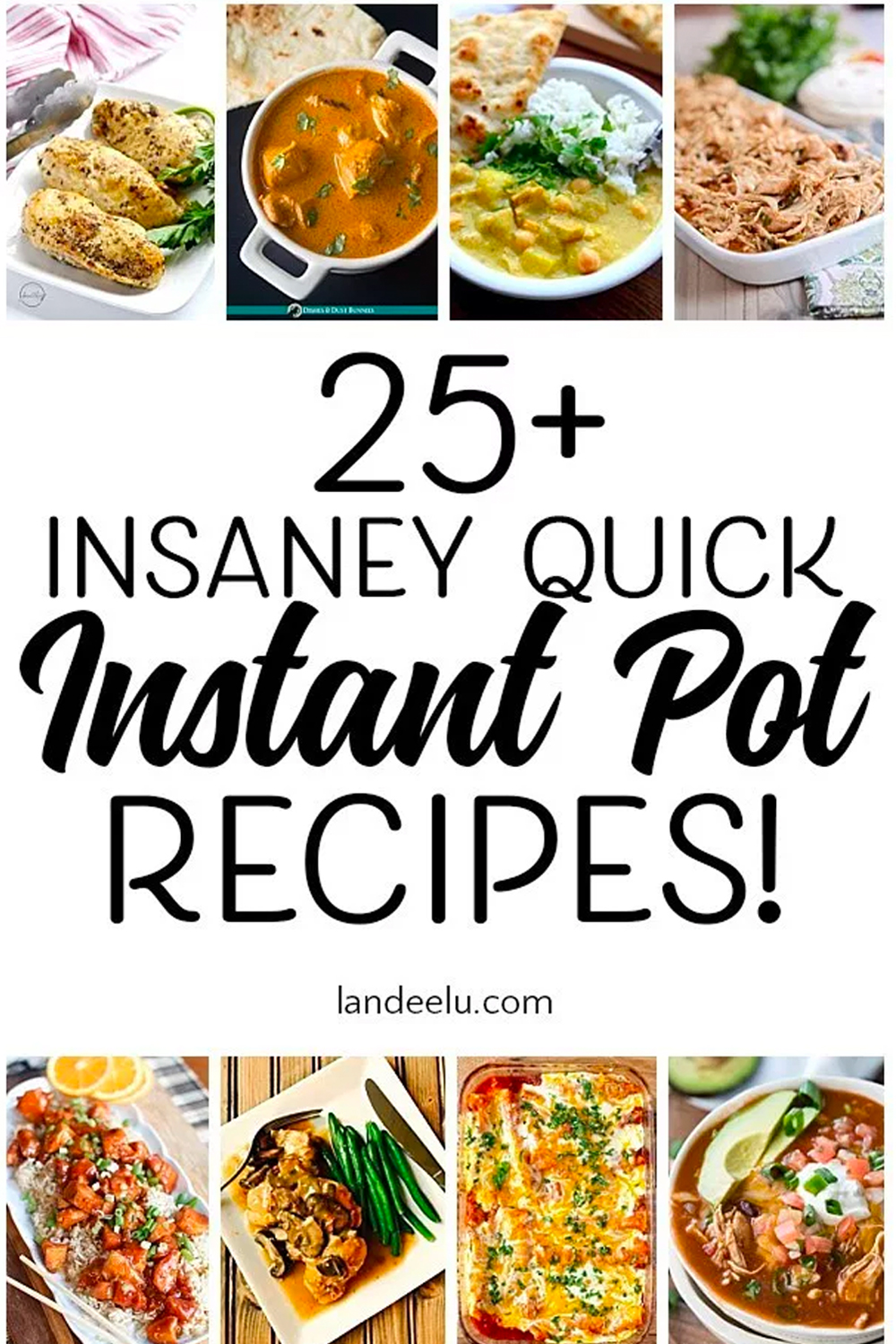 Try these awesome and quick instant pot recipes to get dinner on the table ASAP! #instantpot #instantpotrecipes #familydinners #quickrecipes #dinnerrecipes