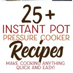 Amazing pressure cooker recipes for your instant pot! Make cooking a breeze!
