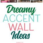 These accent wall ideas are amazing! I've been looking for ideas to do in our master bedroom. #accentwall #accentwalls #diyaccentwalls #accentwallideas #interiordesign #homedecor #diy #painttechniques