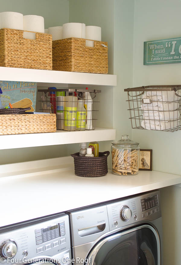 DIY Floating Shelves | Four Generations One Roof