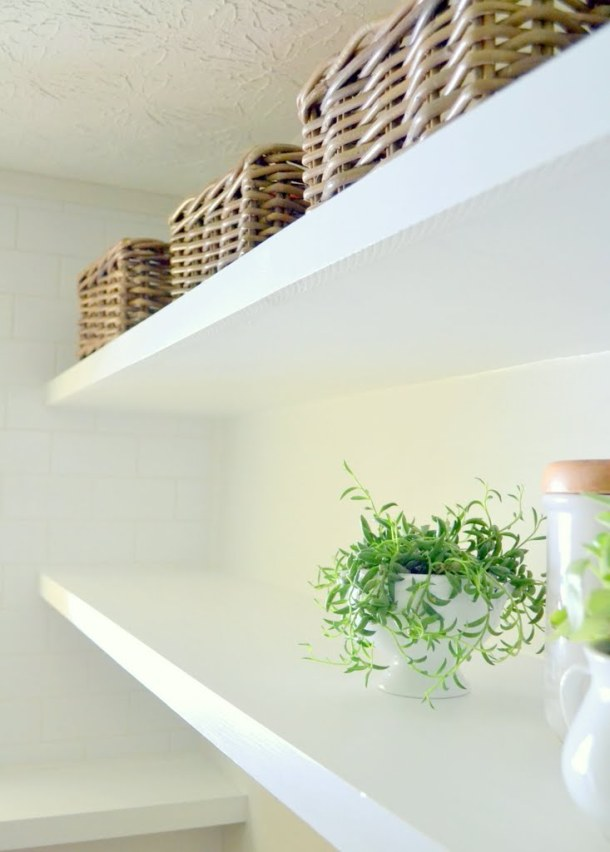 DIY Long Deep Shelves | Ugly Duckling House