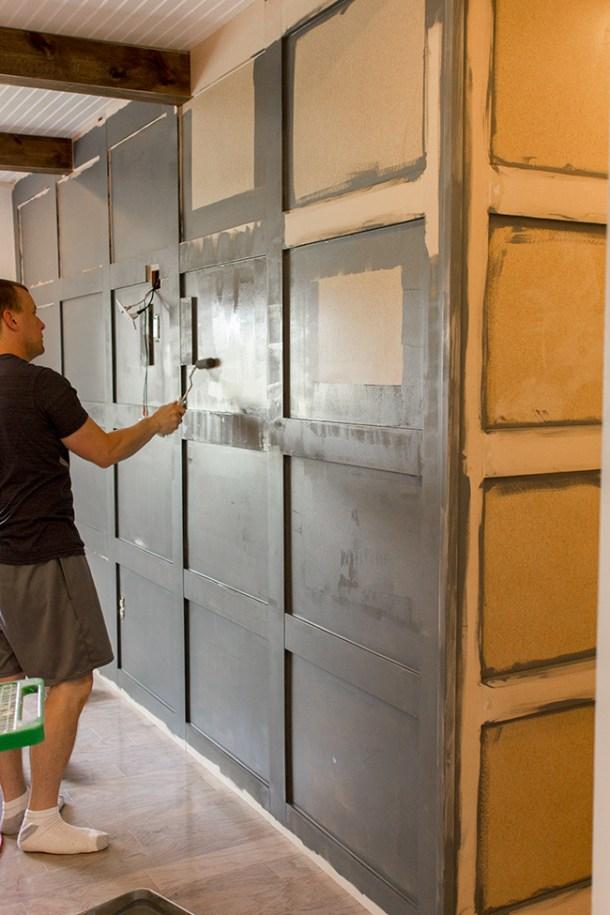 DIY Paneled Wall | Jenna Sue Design