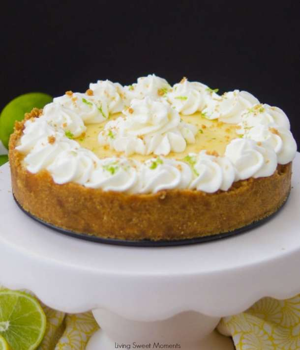 Instant Pot Key Lime Pie | Living Sweet Moments