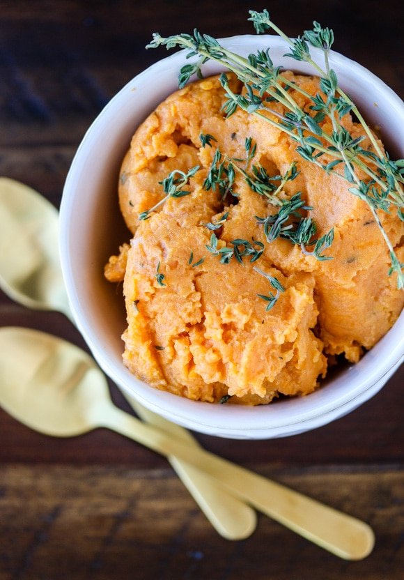 Instant Pot Mashed Sweet Potatoes | Cleaning Kitchen