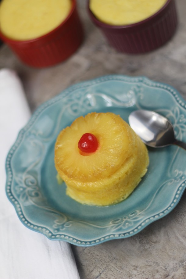 Instant Pot Mini Pineapple Upside-Down Cakes | By Pink