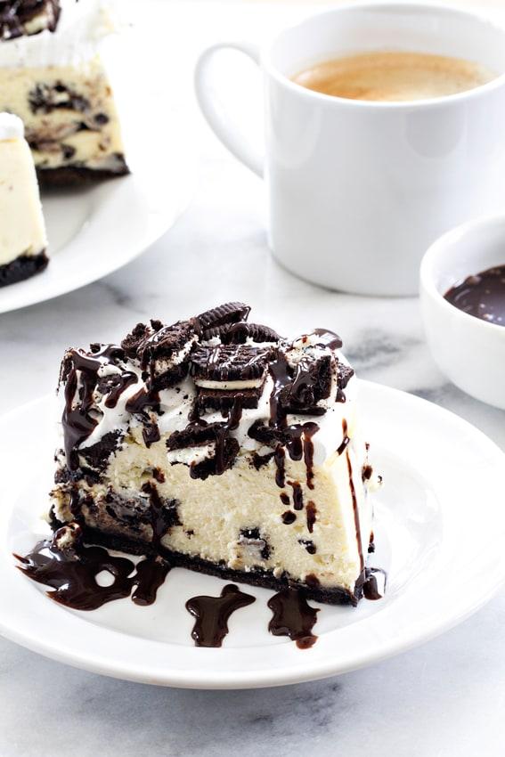 Instant Pot Oreo Cheesecake   My Baking Addiction