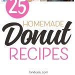 25 Delicious Homemade Donuts Recipes!