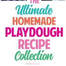 Ultimate Homemade Playdough Recipe Collection!