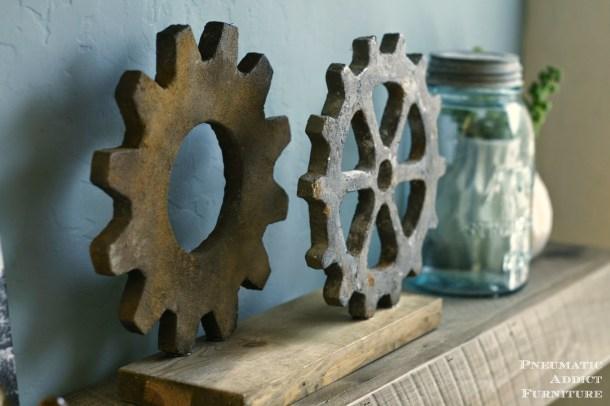 DIY Faux Gears | Pneumatic Addict