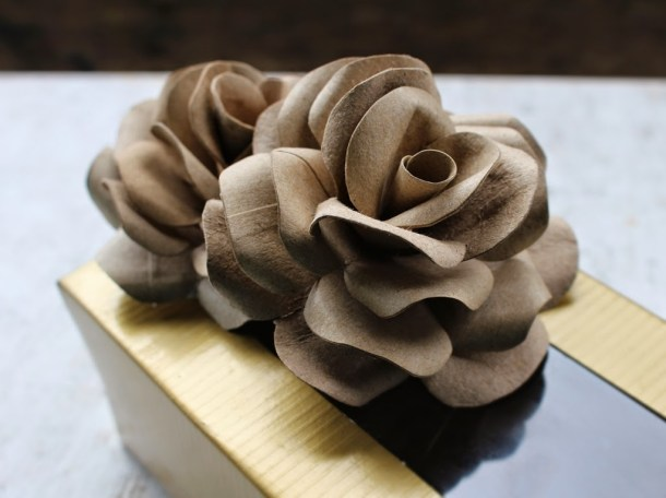 DIY Toilet Paper Roll Rose | Accents and Petals