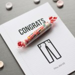 "Graduation Card: ""Smartie"" Pants! 