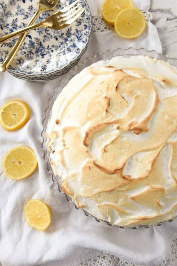 Lemon Curd Ice Cream Pie | Your Homebased Mom