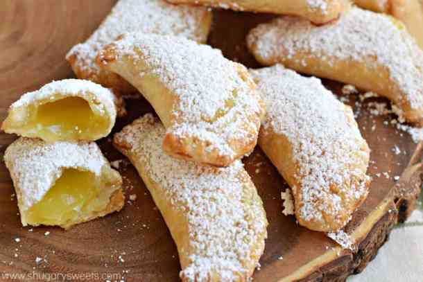 Lemon Hand Pies | Shugary Sweets