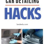 Love these awesome car detailing hacks, tips and tricks! A clean car is my love language! #cardetailing #cleaninghacks #cleaningtips #cleancar
