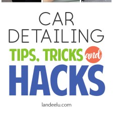 Car Detailing Hacks, Tips and Tricks