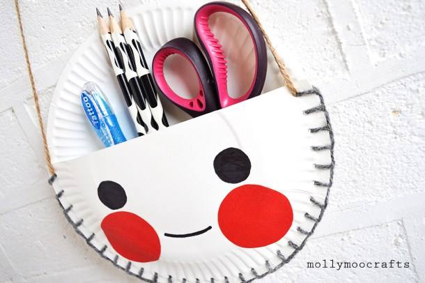 DIY Desk Tidy | MollyMoo Crafts