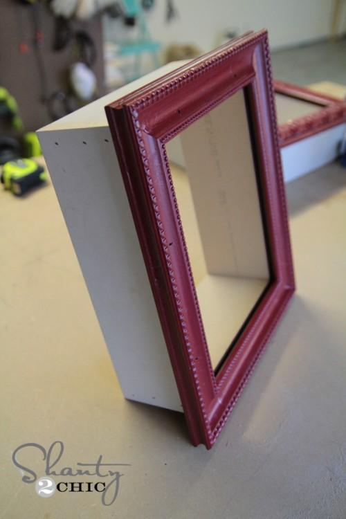 DIY Frame Shelves | Shanty 2 Chic