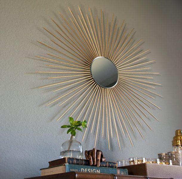 DIY Sunburst Mirror | eHow