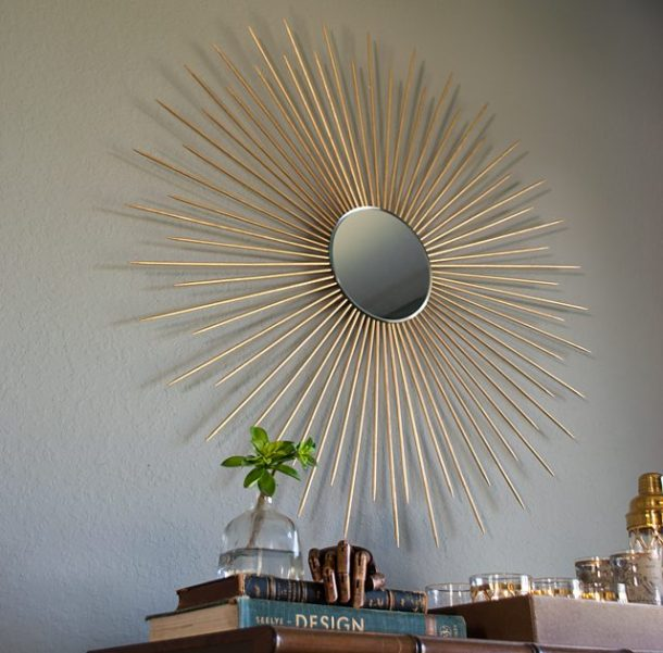 DIY Sunburst Mirror | eHow
