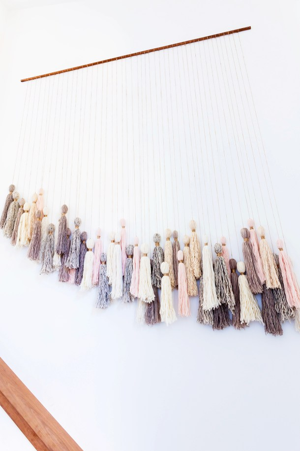 DIY Tassel Wall Hanging | Honestly WTF