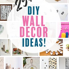 Awesome DIY Wall Decor to Spruce Up Your Space!