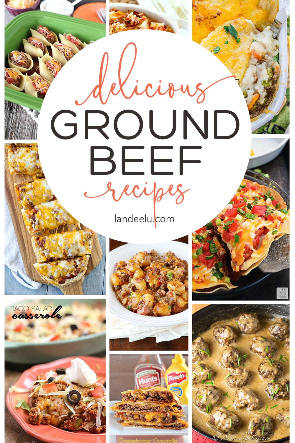Pull some ground beef out of the freezer and try one of these awesome ground beef recipes tonight! Over 25 delicious meals to make! #recipes #familydinner #dinnerrecipes #groundbeefrecipes