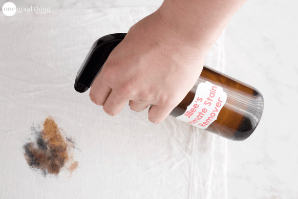 The Ultimate Stain Remover | One Good Thing by Jillee