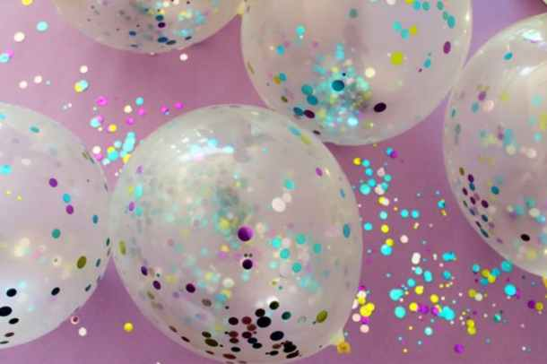 Confetti Balloons! | Brit+Co