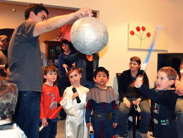 DIY Death Star Piñata | Mnm's Adventures