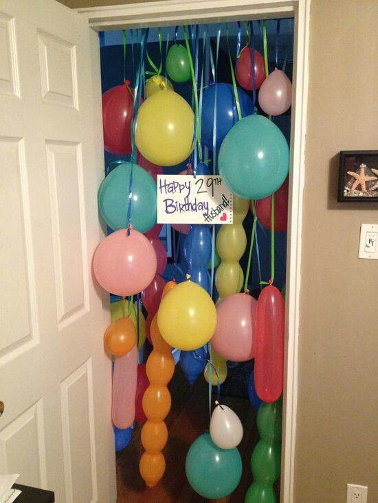 Doorway Balloons | Felt with Love Designs