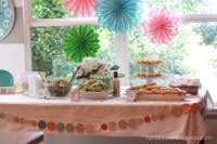 Bridal Shower Decoration Ideas | Romantic Decoration
