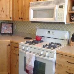 Vinyl Wallpaper Kitchen Backsplash Cabinet Ideas Quatrefoil Projects Landeelu