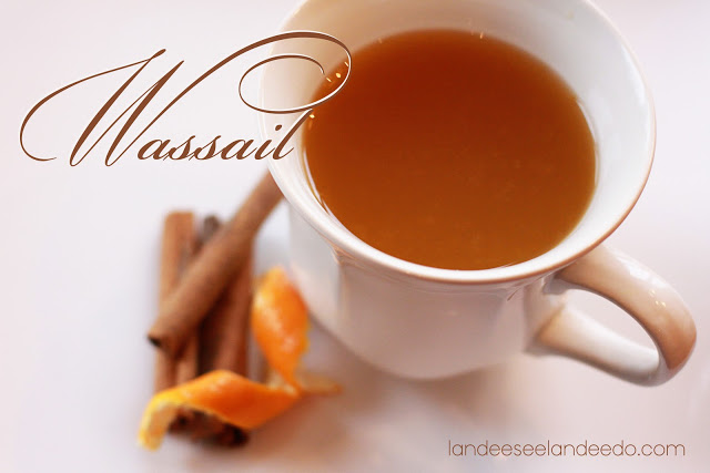Hot Holiday Wassail Alcohol Free Beverage Recipe | Landeelu
