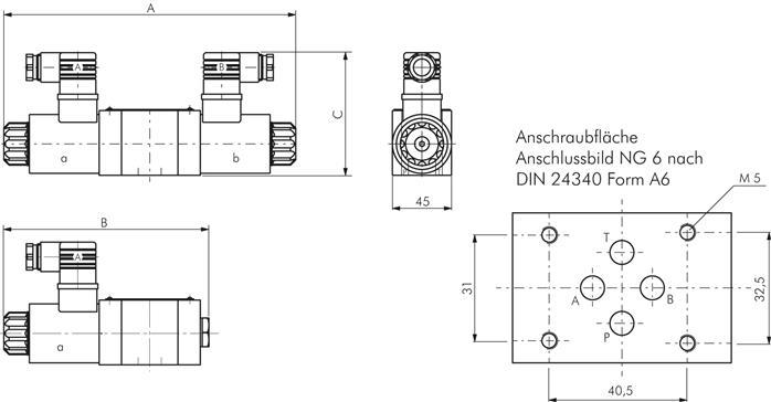 medium resolution of exemplary representation 4 3 way valve