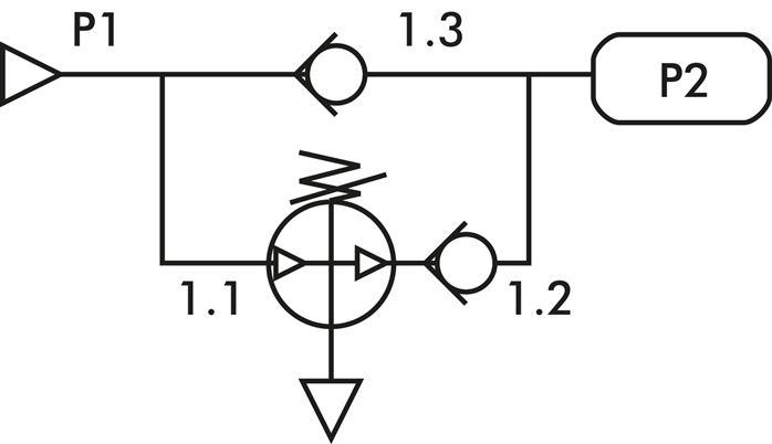 pressure booster (4 : 1), G 1/4