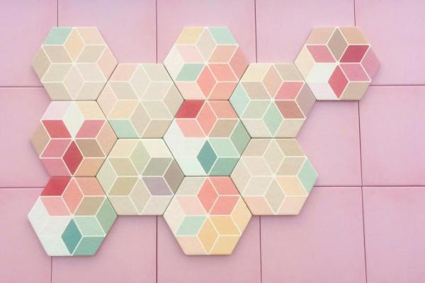 Multi color 17x15