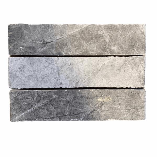 Marmerlook vloertegel Bardiglio Brick 6x25cm