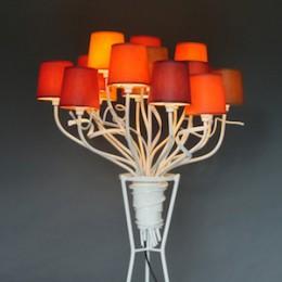 Exclusieve Staande lampen in Landelijke Interieurs