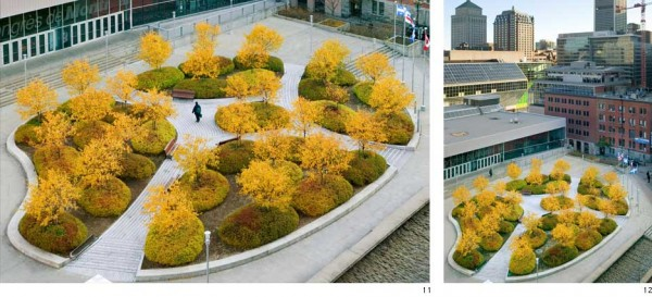 Public park on a roof by claude cormier for Canadian society of landscape architects