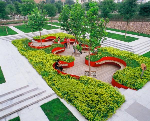 tianjin qiaoyuan park turenscape