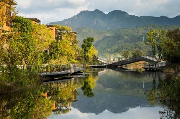 Fuzhou Vanke Yongtai Swa Group Landscape Architecture Platform Landezine