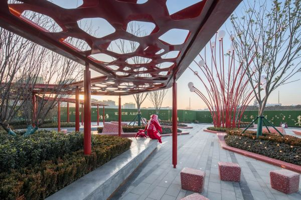 Hefei Wantou & Vanke Paradise Art Wonderland Aspect